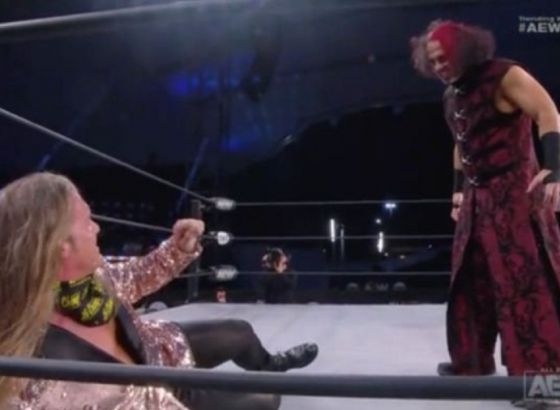 Notes On How Chris Jericho-Matt Hardy Segment From AEW Dynamite Was Taped