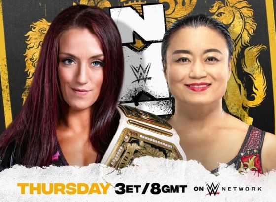 NXT UK Women's Championship Match Set for NXT UK