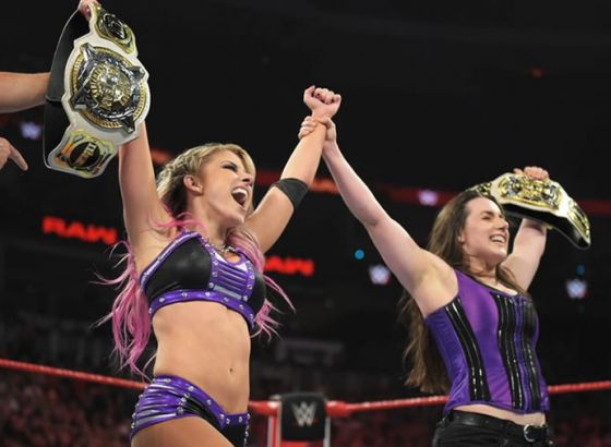 Backstage News On Alexa Bliss & Nikki Cross Winning Women's Tag Team Championships On WWE Raw