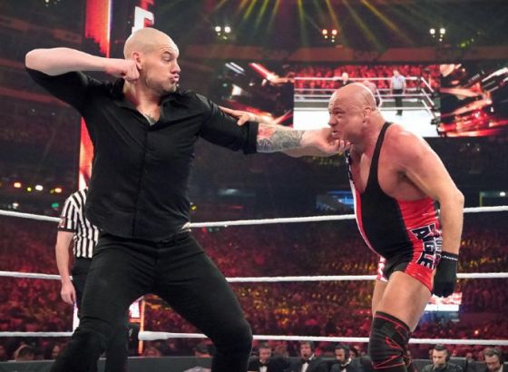 Kurt Angle Says Vince McMahon Insisted On Baron Corbin As WWE WrestleMania 35 Opponent