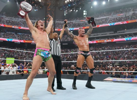WWE's Drew McIntyre Will Eat His Hat If Riddle Turns On Randy Orton