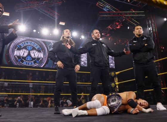 Roderick Strong Returns To WWE NXT With The Diamond Mine