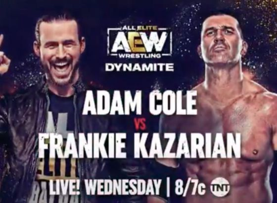 Adam Cole's In-Ring Debut Set For September 15 AEW Dynamite