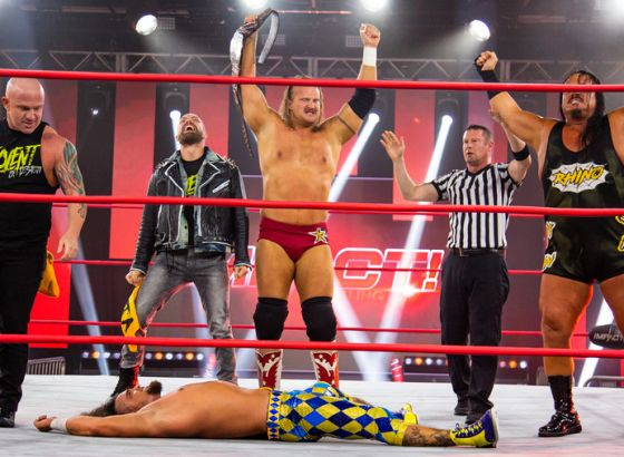 Violent By Design Win IMPACT Tag Team Championships