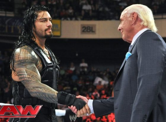 Ric Flair Thought He Had Lost Roman Reigns' Respect During 'The Man' Trademark Battle With WWE