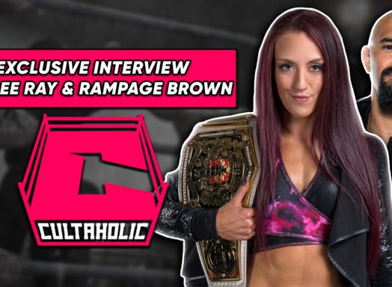 Exclusive Interview: WWE NXT UK's Kay Lee Ray & Rampage Brown