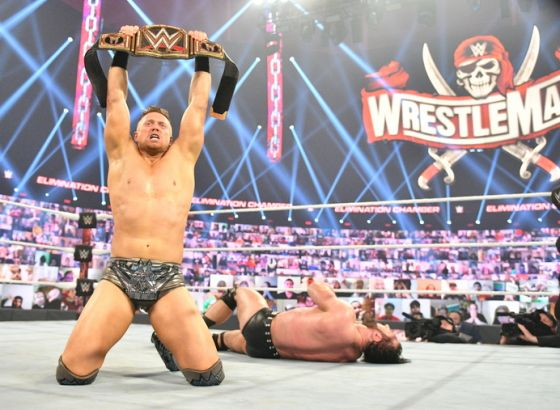 The Miz Sets Grand Slam Record With WWE Title Win At Elimination Chamber 2021
