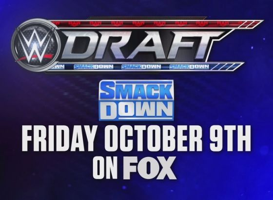 WWE Draft Scheduled For October 9 And October 12