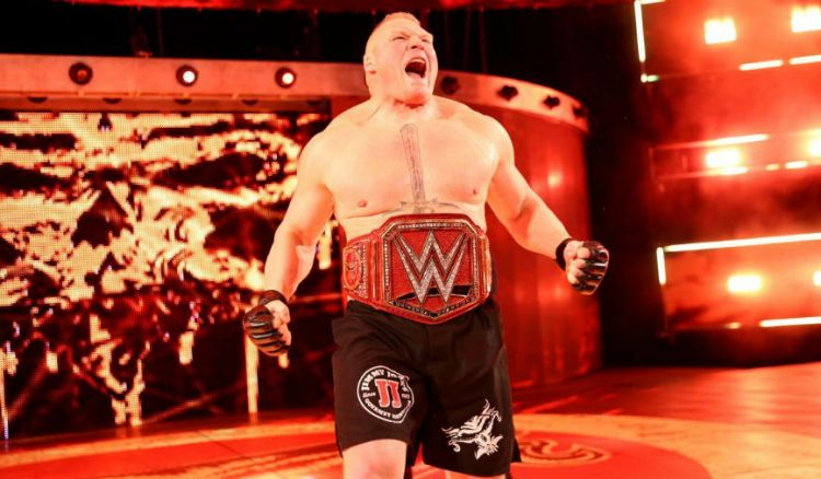 WWE Gives Up On Trademarking Brock Lesnar's Name