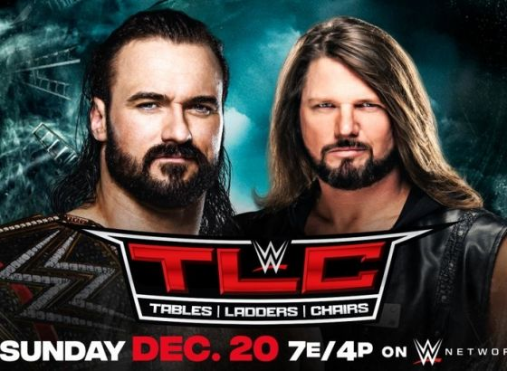 Drew McIntyre Vs. AJ Styles Set For WWE TLC 2020