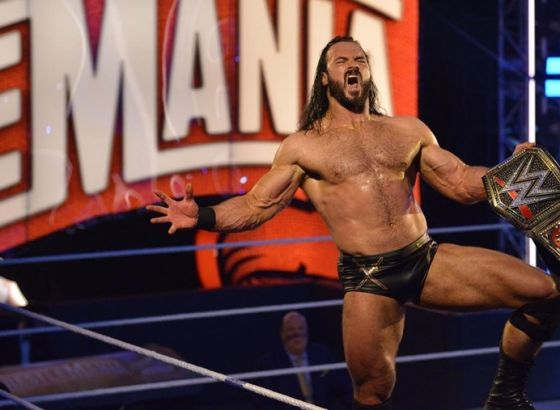 Exclusive: Drew McIntyre Thought Fourth Wall-Breaking WWE WrestleMania 36 Moment Would Get Edited Out