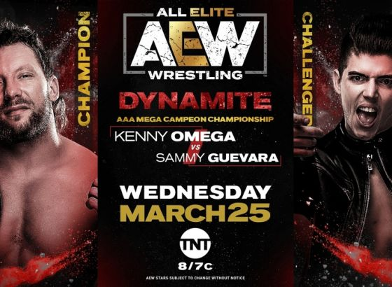 AEW Announce Kenny Omega Will Defend The AAA Mega Championship On This Week's Episode Of Dynamite