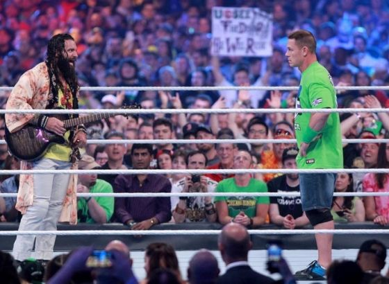 Elias Confirms He Was John Cena's Original Opponent At WWE WrestleMania 36