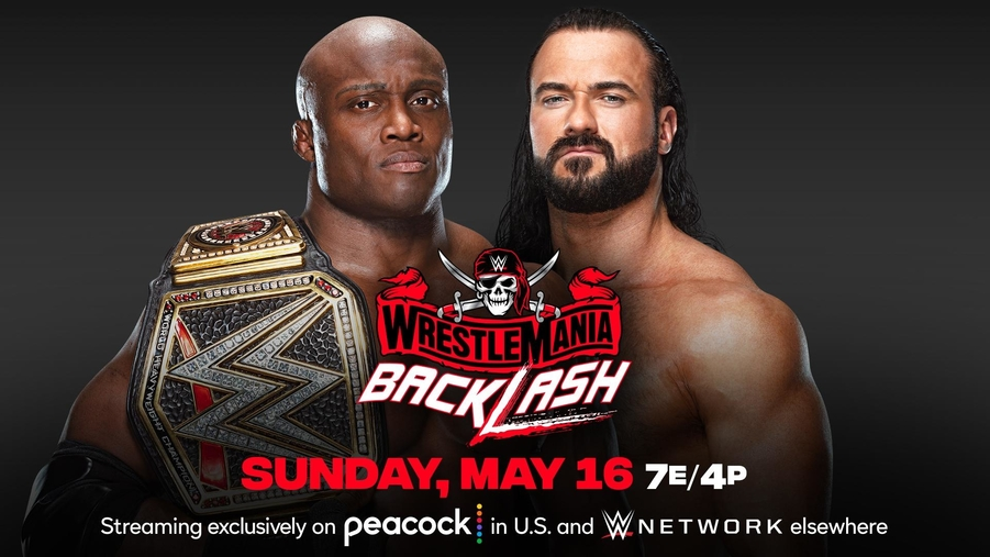 Bobby lashley vs. drew mcintyre wwe wrestlemania backlash
