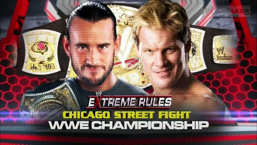 Cm punk v chris jericho wwe extreme rules 2012