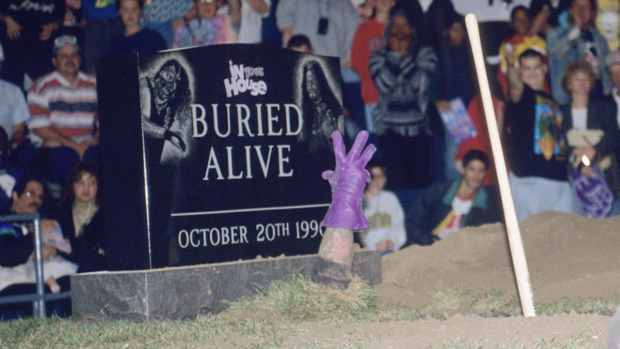 The undertaker buried alive