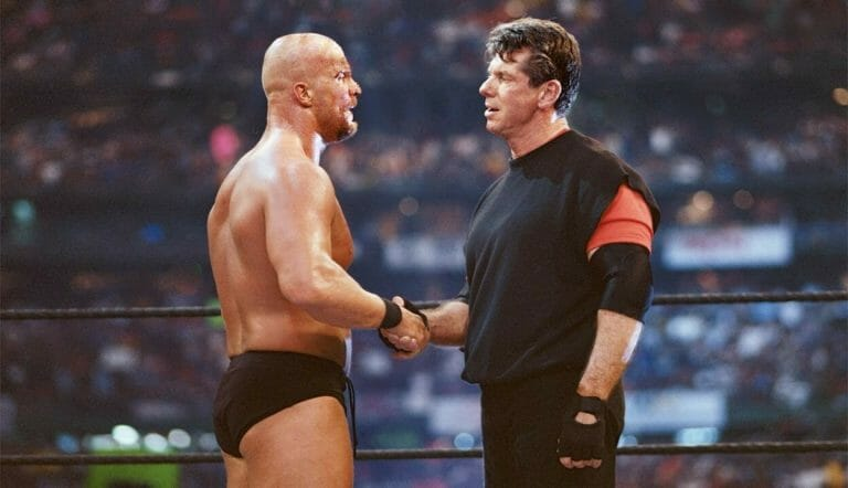 Wwe wrestlemania 17 steve austin and vince mcmahon