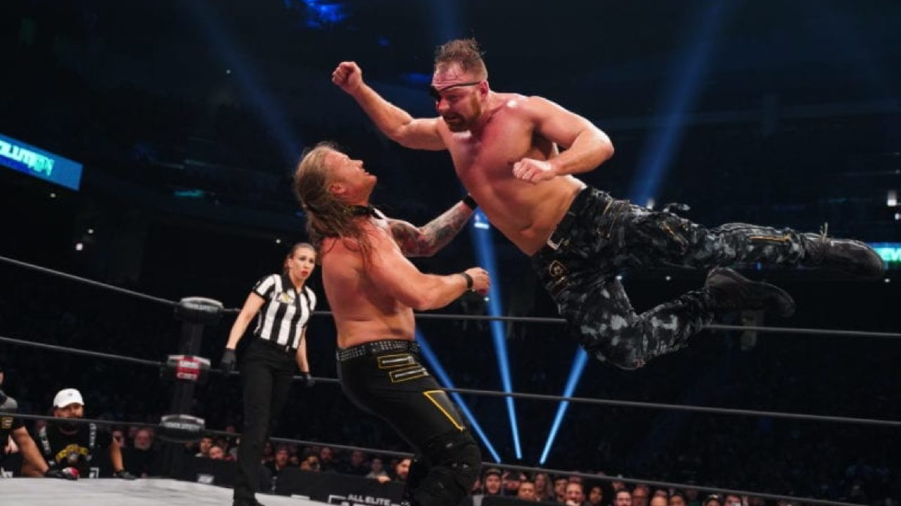 Chris jericho jon moxley revolution